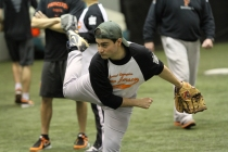 30 SONJ athletes attended a baseball clinic offered by the Princeton University baseball team.