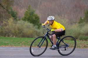 SONJ athlete Eric Kish, also competes in cycling in the fall. He's joining our guest blogger Kate at Tour de Jersey.