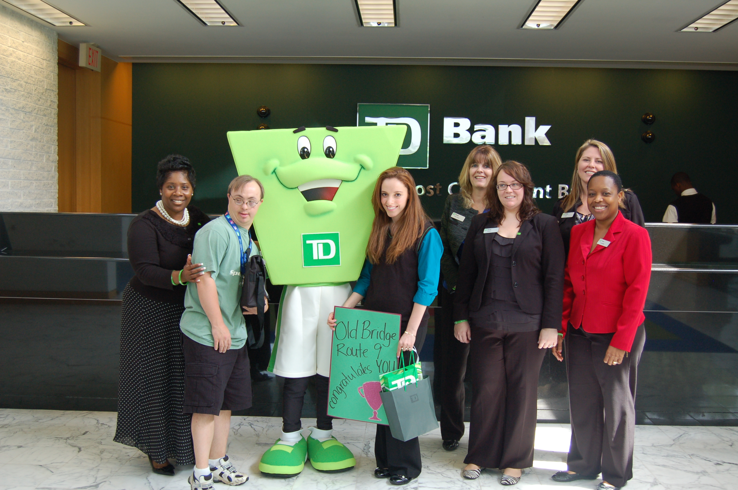 how to know how much is in your td bank